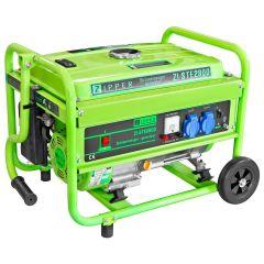 Helposti käsiteltävä laadukas bensiinikäyttöinen aggregaatti. Hiljainen käyntiääni ja 100% kuparinen käämitys generaattorissa