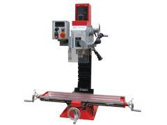 Hyvä metallijyrsinkone joka soveltuu monipuolisesti erilaisiin metallialan töihin ja mallinrakentamiseen.