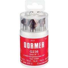 Dormer G2361 kärkiupotinsarja pinnoittamaton