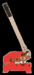 Kevytkäyttöinen lattarautaleikkuri joka soveltuu moneen käyttöön. Työpituus 200mm.