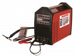 WIG / TIG pulssi-invertteri. Kevyt ja tehokas valovirtakone max. 200A virralla.
