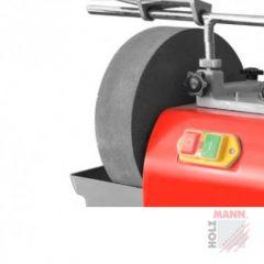 Märkähiomakivi Holzmann NTS250 hiomakoneeseen. Mitat 250 x 50 mm, max. pyörintänopeus 150 rpm.