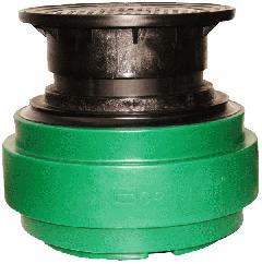 Näpsä Green 500 pumppaamon teleskooppijatko muovikannella